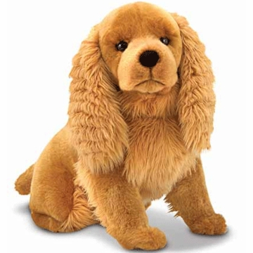 Melissa & Doug Plush Cocker Spaniel