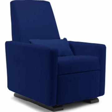 Monte Design Grano Glider Recliner in Navy Blue