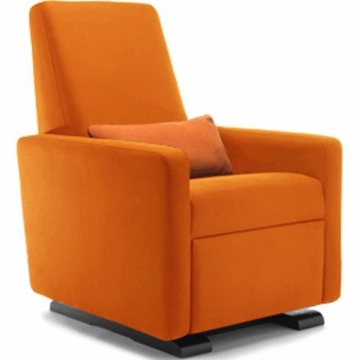 Monte Design Grano Glider Recliner in Orange