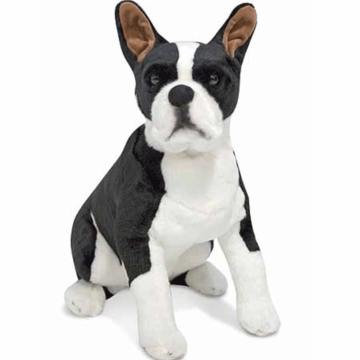 Melissa & Doug Plush Boston Terrier