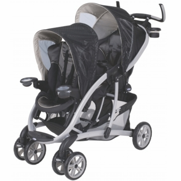 Graco Quattro Tour Duo Flint Double Stroller 6k00fln3 Flint