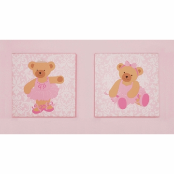 KidsLine Twirling Around Canvas Wall Art