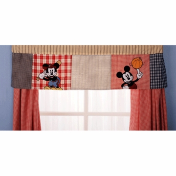 KidsLine Vintage Mickey Window Valance