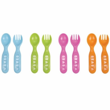 Beaba Spoon and Fork Set