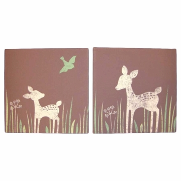 KidsLine Willow Organic Canvas Wall Art