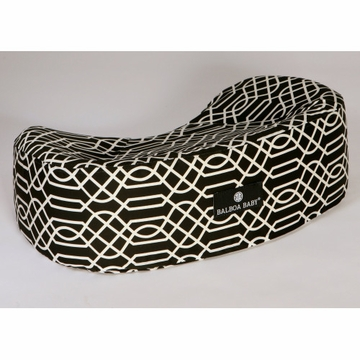 Balboa Baby Nursing Pillow Geo - Black & White