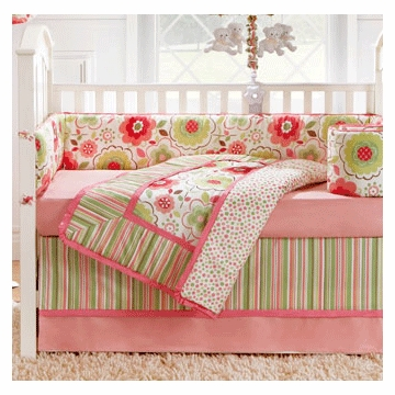 Bananafish Brianna 4 Piece Crib Bedding Set