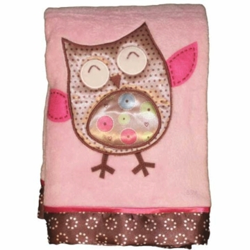 Bananafish Calico Owls Blanket