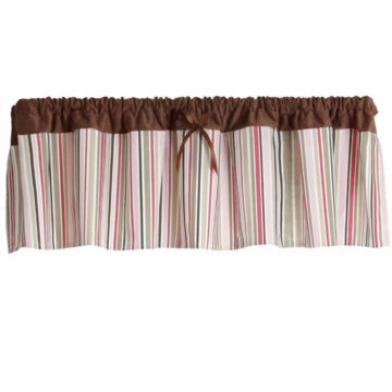 Bananafish Calico Owls Window Valance