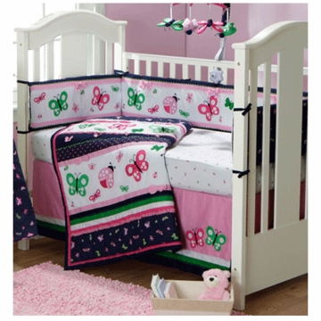 Bananafish Classic Cutie 4 Piece Crib Bedding Set
