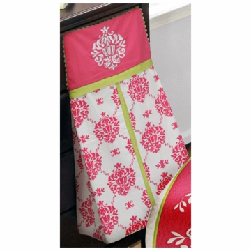 Bananafish Damask Diaper Stacker
