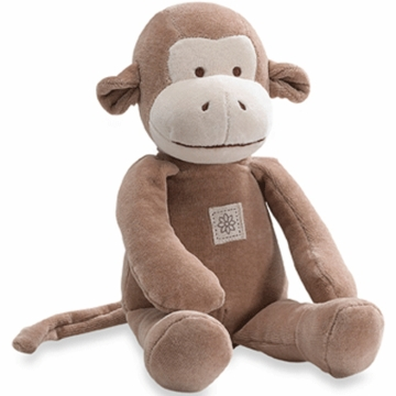 "MiYim Storybook Fred 11"" Organic Plush Monkey"