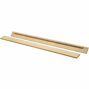DaVinci Parker Full Size Conversion Rail Kit in Natural Finish