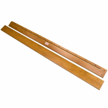 DaVinci Parker Full Size Conversion Rail Kit in Oak Finish