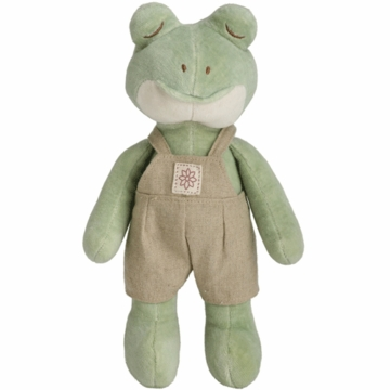 "MiYim Fairytale Baby Ben 9"" Organic Plush Frog with Outfit"