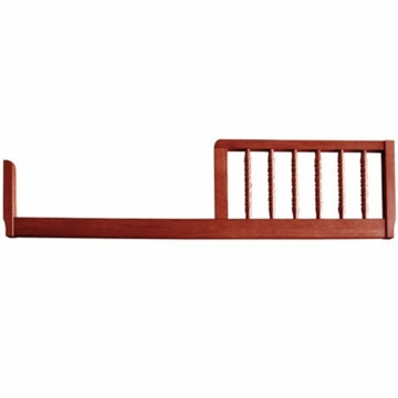 DaVinci Jenny Lind Crib Toddler Bed Conversion Rail Kit in Cherry Finish