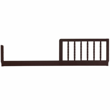 DaVinci Jenny Lind Crib Toddler Bed Conversion Rail Kit in Ebony Finish