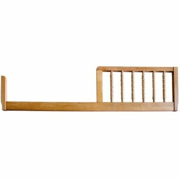 DaVinci Jenny Lind Crib Toddler Bed Conversion Rail Kit in Oak Finish