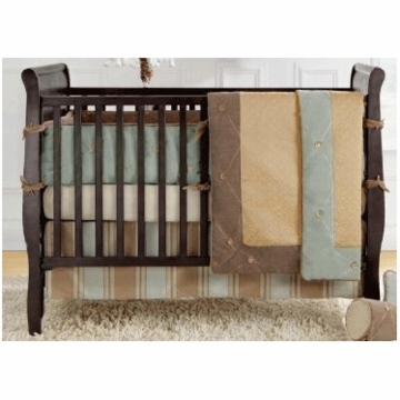 Bananafish Logan 4 Piece Crib Bedding Set