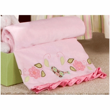 Bananafish Love Bird Blanket