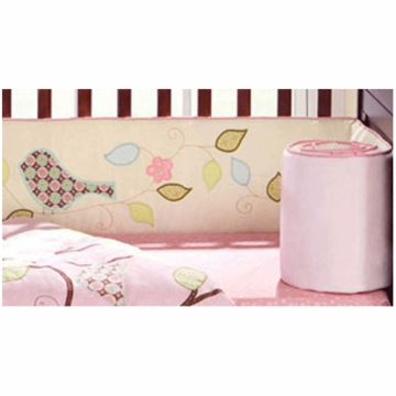 Bananafish Love Bird Crib Bumper