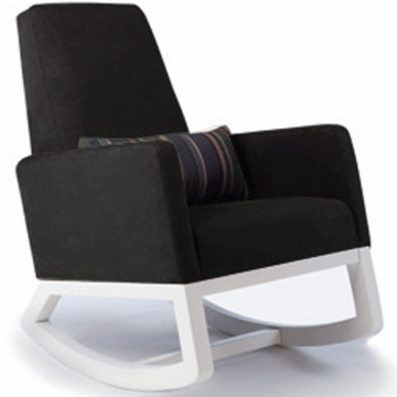 Monte Design Joya Rocker White Base in Black