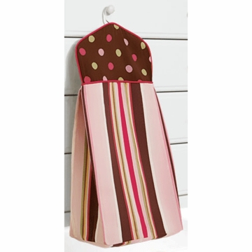 Bananafish Raspberry Truffle Diaper Stacker