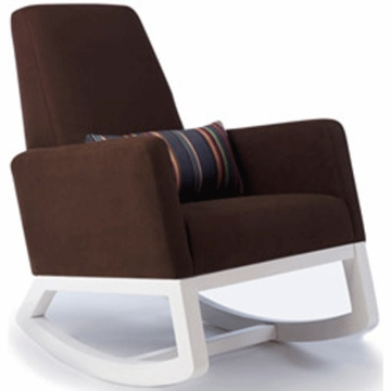 Monte Design Joya Rocker White Base in Brown