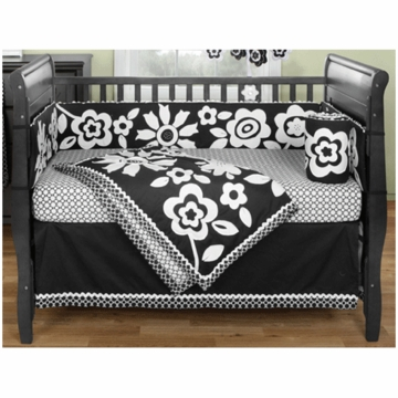 Bananafish Zia 3 Piece Crib Bedding Set