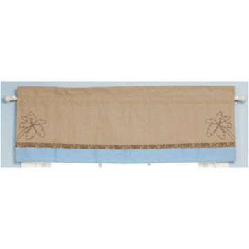 Bananafish Mosaic Jungle Window Valance