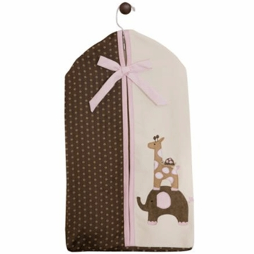 Lambs & Ivy Emma Diaper Stacker