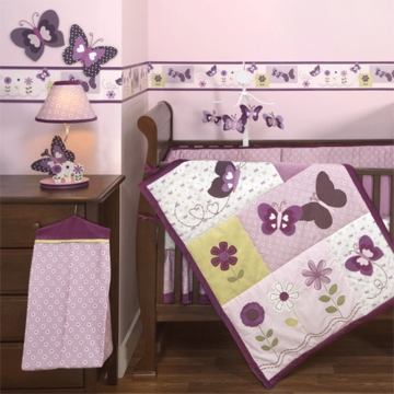 Bedtime Originals Provence 4 Piece Crib Bedding Set