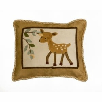 Lambs & Ivy Enchanted Forest Decorative Pillow