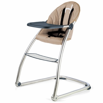 BabyHome Eat High Chair - Sand