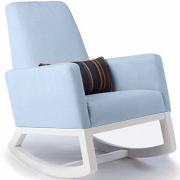 Monte Design Joya Rocker White Base in Light Blue