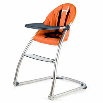 BabyHome Eat High Chair - Orange