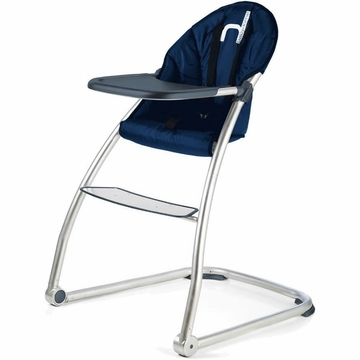 BabyHome Eat High Chair - Navy