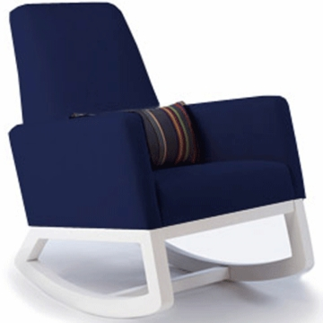 Monte Design Joya Rocker White Base in Navy Blue