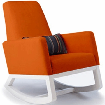 Monte Design Joya Rocker White Base in Orange