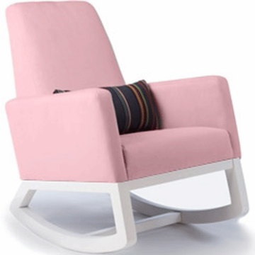 Monte Design Joya Rocker White Base in Pink