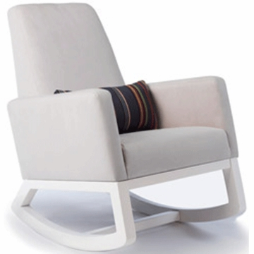 Monte Design Joya Rocker White Base in Stone