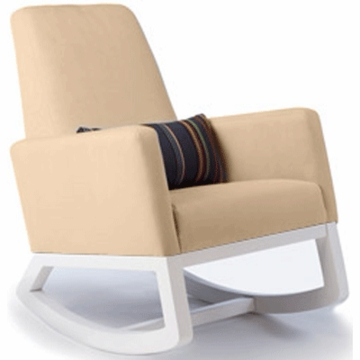 Monte Design Joya Rocker White Base in Tan