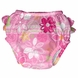 iPlay Ultimate Ruffle Swim Diaper - Classics Light Pink Flowers - Large (18 mo)