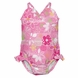 iPlay Ultimate Swim Diaper Triangle Tanksuit - Classics Light Pink Flowers - 3T (3 yrs)