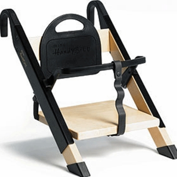 Minui HandySitt High Chair in Birch & Black