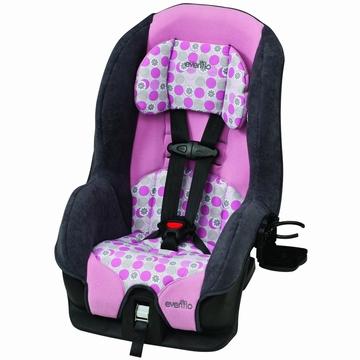 Evenflo Tribute Deluxe Convertible Car Seat -  Ella