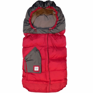 7 A.M. Enfant Blanket 212 Evolution in Red/Gray
