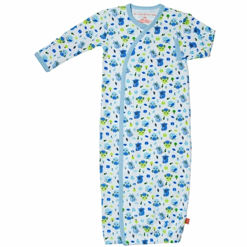 Magnificent Baby Boy's Bird Gown (One Size)