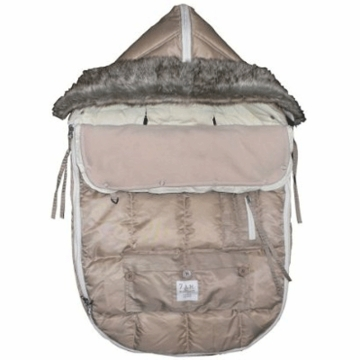 7 A.M. Enfant Le Sac Igloo Medium Baby Bunting in Beige