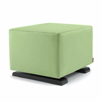 Monte Design Vola Ottoman in Lime Green
